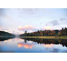 Early Morning at Floating Bridge Photographic Print
