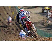 Team New Zealand's Brad Groombridge - 2010 Red Bull MX Of Nations Photographic Print