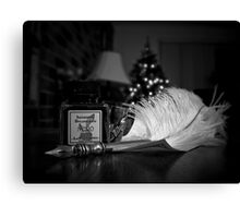 Quill & Ink - New Hobby Canvas Print