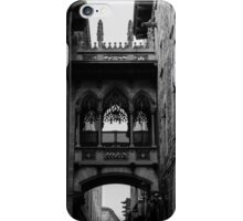 Barcelona, the Gothic Quarter  iPhone Case/Skin