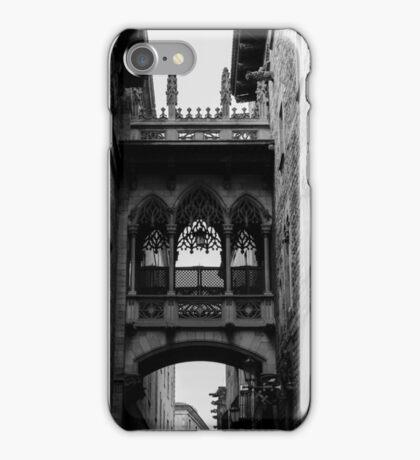 Barcelona, the Gothic Quarter  iPhone Case/Skin