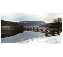 Ladybower Viaduct, The Peak District Poster