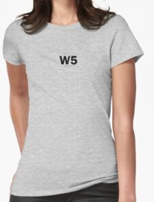 W5, London - 2010. Womens Fitted T-Shirt