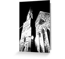 A church Greeting Card