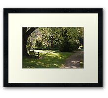 peaceful saturday  Framed Print