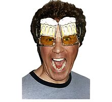 Will Ferrell beer glasses Photographic Print