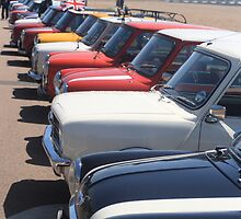 Minis in Brighton by ThatsAndy
