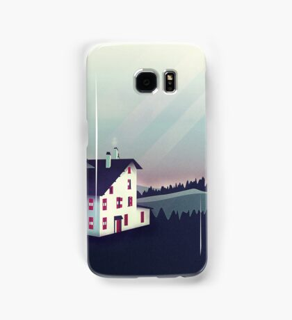 Castle in the Mountains Samsung Galaxy Case/Skin