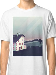 Castle in the Mountains Classic T-Shirt
