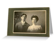 Wade & Sandifer Estate / Uncle Dudley & Aunt Shelly? Greeting Card