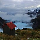 """chancellor hut""   fox glacier. west coast, new zealand by rina  thompson"