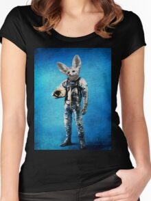 Fennec the captain Women's Fitted Scoop T-Shirt