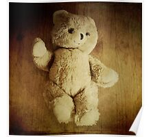 Old Teddy Bear Poster