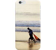 Kids at the beach iPhone Case/Skin