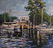 I'll Take You Home- Fishermen's Wharf, Woy-Woy, Australia by Paulina Kazarinov
