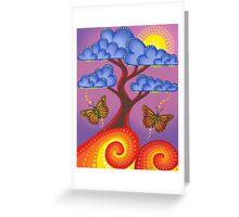 Jacaranda in full bloom Greeting Card