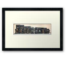 Folding Cameras Framed Print