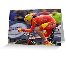 UCI 2010 Spain Greeting Card