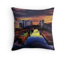 Lochrin Basin Throw Pillow