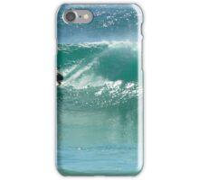 Surfing at Burleigh Heads #4 iPhone Case/Skin