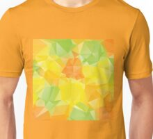 Green Yellow Orange Polygons 2 Unisex T-Shirt