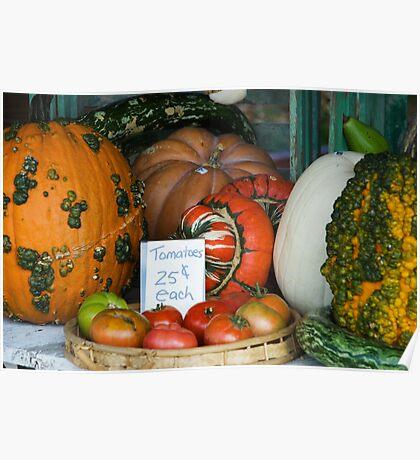Autumn Produce Poster