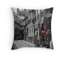 Streets of Seville, Spain  Throw Pillow