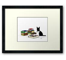 Literary Critic Framed Print