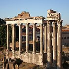 The Roman Forum by hjaynefoster