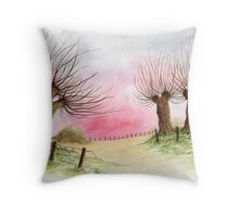 WILLOW TREES Throw Pillow