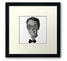 Bill Nye Eyes Framed Print
