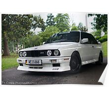 Eddie's BMW E30  Poster