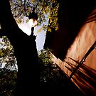 Valencia lamp shadowed wall by ragman