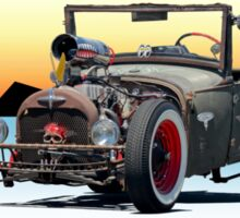 Ford 'Ratzo Ritzo' Rat Rod Sticker