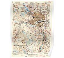 Massachusetts  USGS Historical Topo Map MA Lawrence 351827 1944 31680 Poster