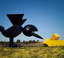 Tollway Art? by Keith Irving