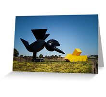 Tollway Art? Greeting Card