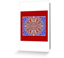 RWB Bandana Greeting Card