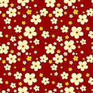 Flower pattern by puppaluppa