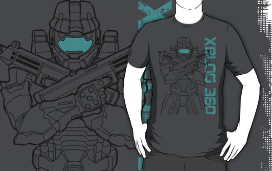 XBlog 360 chief tee by XBlog360
