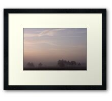 A gentle morning Framed Print
