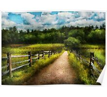 Country - Every journey starts with a path  Poster