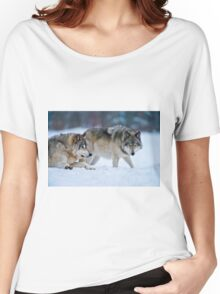 Timber Wolves Women's Relaxed Fit T-Shirt