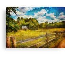 Country - It's so peaceful in the country Canvas Print
