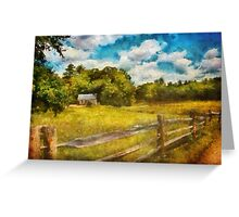Country - It's so peaceful in the country Greeting Card