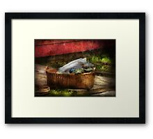 Country - Laundry  Framed Print