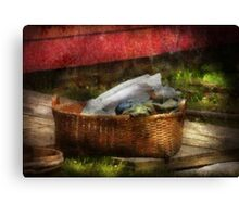 Country - Laundry  Canvas Print