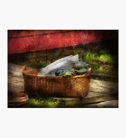 Country - Laundry  Photographic Print