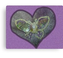 Butterfly Broach - Tribute Canvas Print
