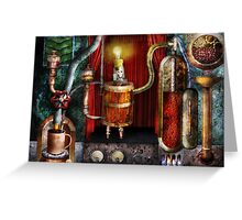 Steampunk - Coffee Break Greeting Card